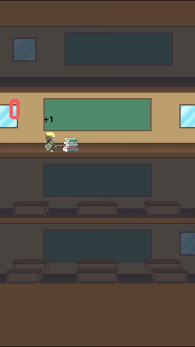 High School Student Rush Pro - speed floor jumper screenshot 1