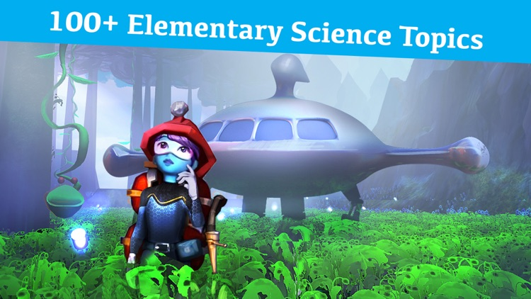 Blue Apprentice Elementary Science Game by Galxyz screenshot-0
