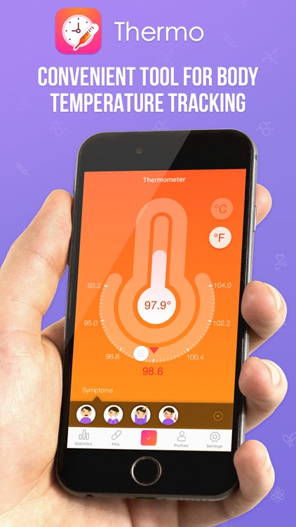 Thermo - Family Health Tracing & Fever Tracker Pro