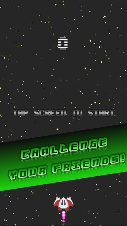 Impossible Retro Endless Arcade Game : Space Pro ! screenshot-3