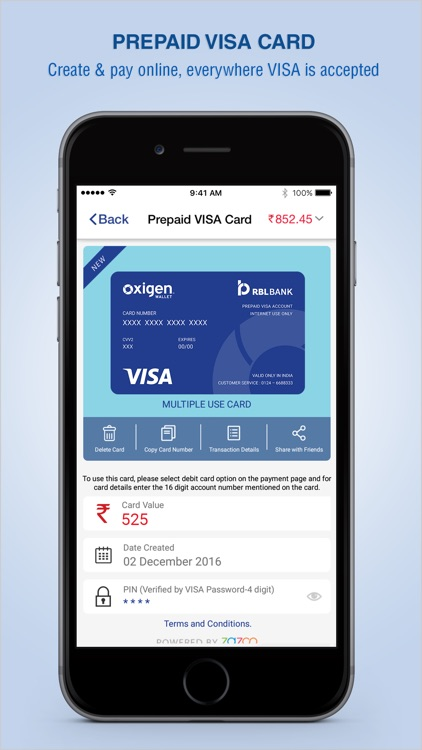 Oxigen Wallet – Money Transfer, Recharge