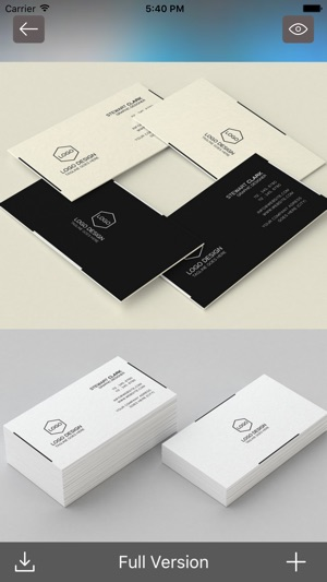 Business cards best design idea for business card on the app store colourmoves