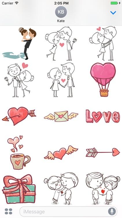 Love stickers pack screenshot-3