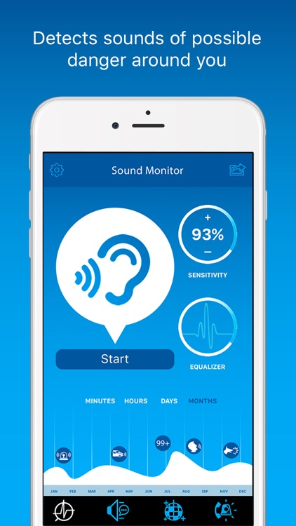 BeWarned – App for Deaf and Hard of Hearing