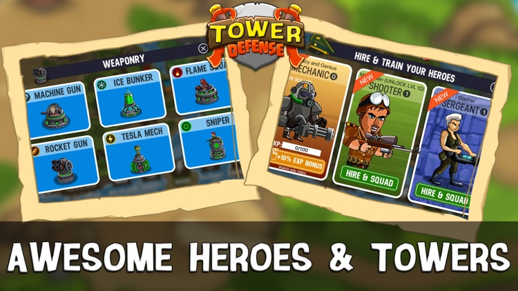 Infinite Warfare Tower Defense screenshot-3