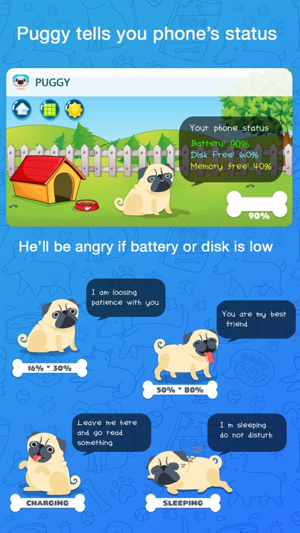 Puggy - Pug emoji & widget screenshot-4