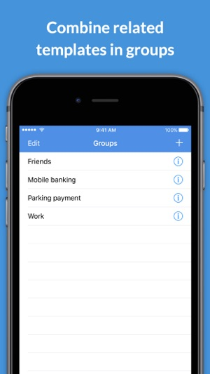 Templator easily send group sms message templates on the app store templator easily send group sms message templates on the app store maxwellsz