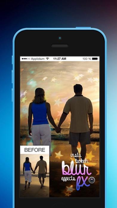 Insta Bokeh Blur Efffects FX screenshot one