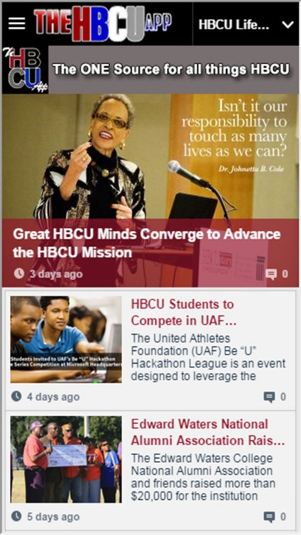 The HBCU App screenshot-2