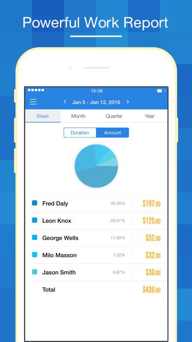 Hours Keeper Pro - Timesheet, Tracking & Billing Screenshot
