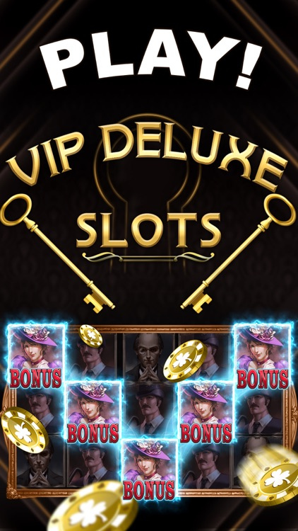 Slots: VIP Deluxe Slots Machines - Free Slot Games screenshot-4