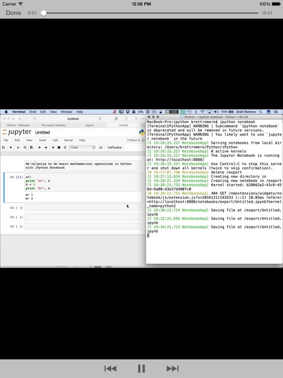 Learning iPython screenshot 8