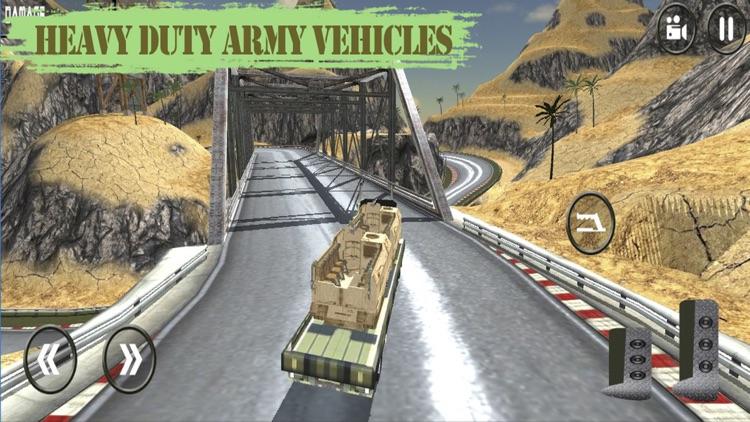 Army War Truck Parking: Battle Field Driver