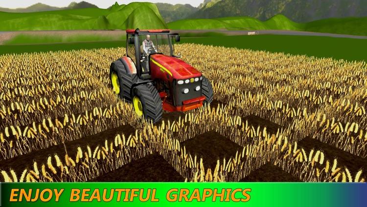 Tractor Simulator: Farming Machine HD screenshot-4