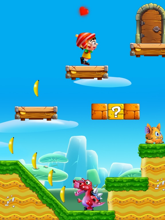 Jungle Adventure Story - Super Run World screenshot 7