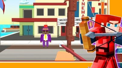 Pixel City Archery Shoot screenshot one