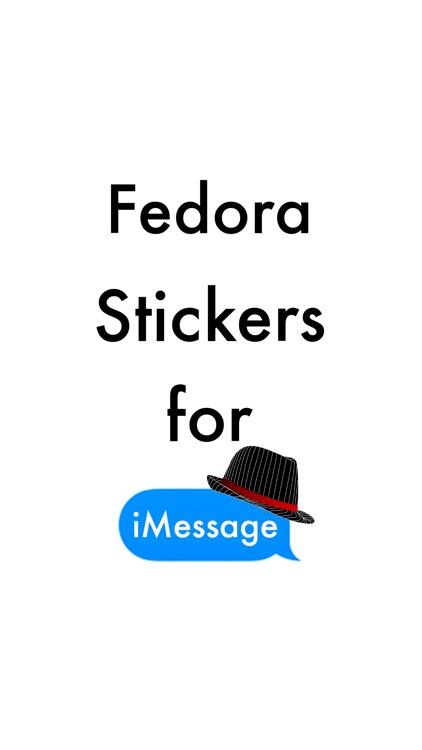Fedora Stickers
