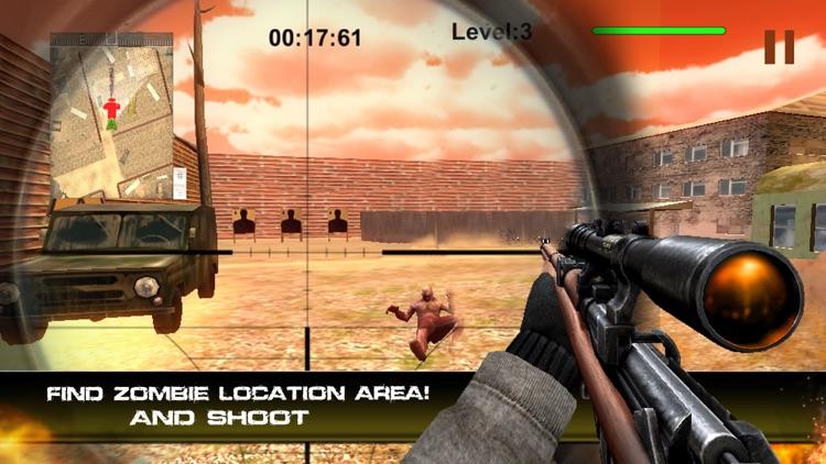 Special Commando Death Shooting - Zombie Overkill screenshot-3