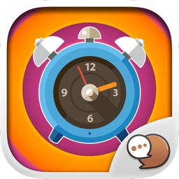 Clock Emoticons Stickers Themes by ChatStick