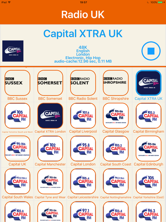 Radio UK -Include Capital FM,Smooth,Heart,Absolute   App Price Drops