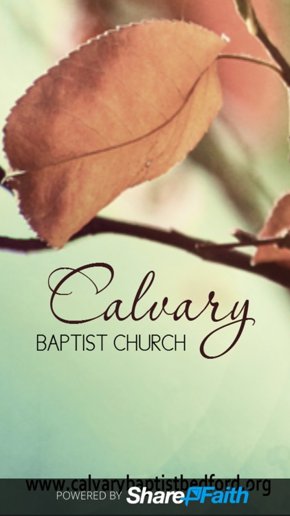 Calvary Baptist Church Bedford