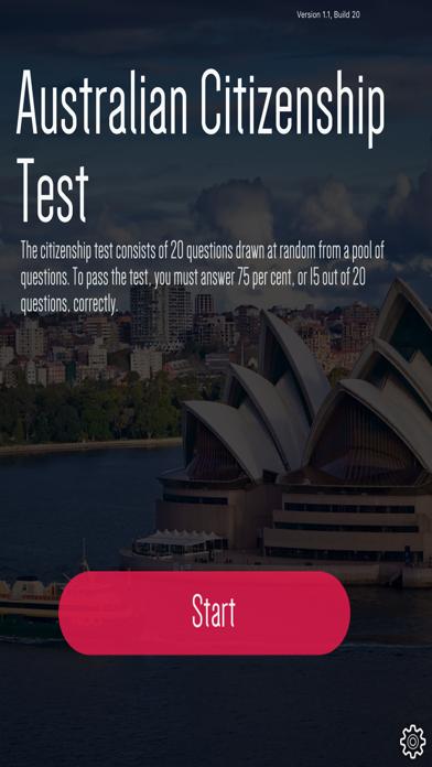 Australian Citizenship Practice Test 2017 screenshot 1