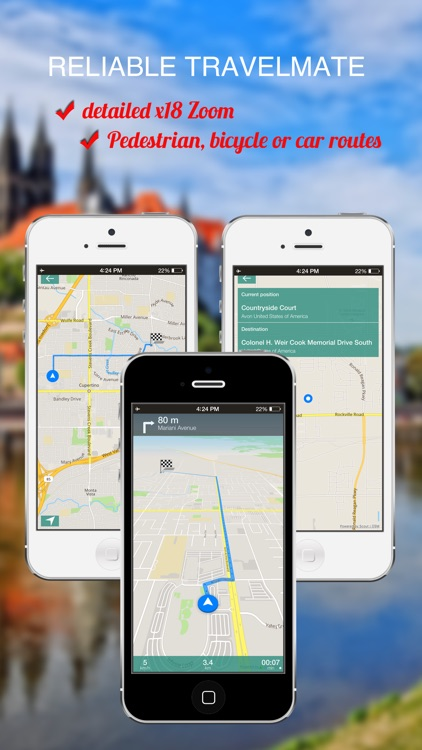 Wales, UK : Offline GPS Navigation screenshot-3