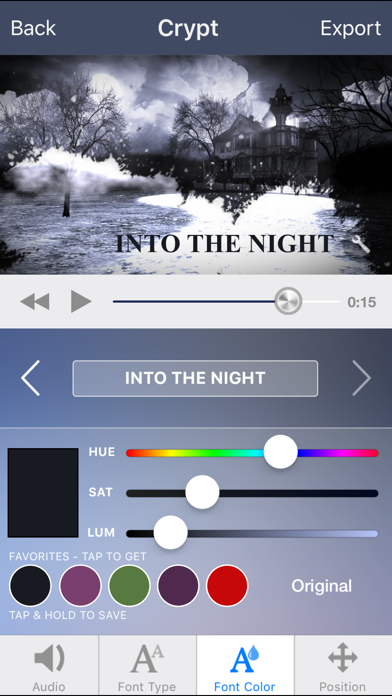 Intro Designer For Imovie And Youtube review screenshots