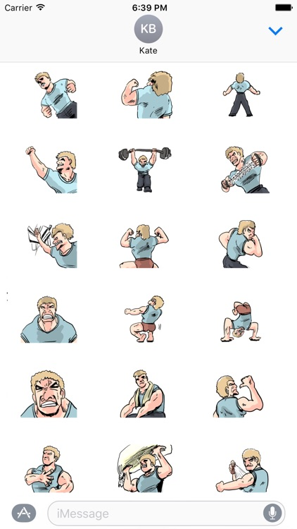 Fitness Man Color