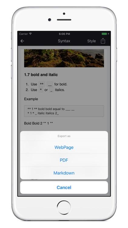 MarkLite-A delicate markdown editor screenshot-3