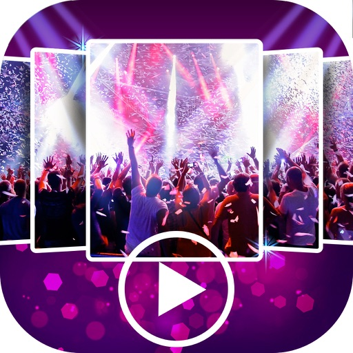 Party Slideshow Maker with Music & Video Editor