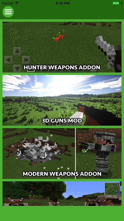 GUNS ADDON & MODS for Minecraft Edition