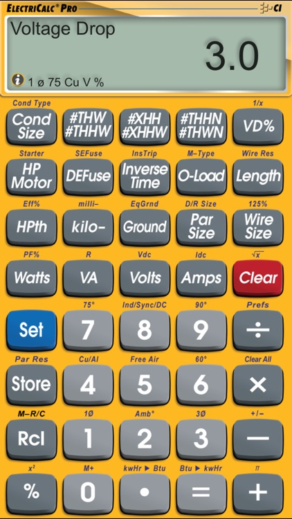 ElectriCalc Pro Advanced NEC Code Calculator