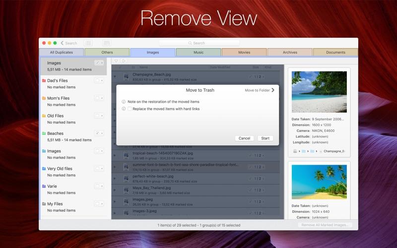 DupeZap 4 Screenshots