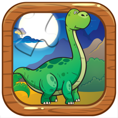 Activities of Dinosaur jigsaw puzzle for children