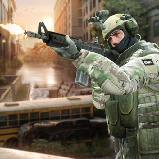 Swat Commando Shoot : Military Shooter 3D - Pro application logo