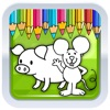 Kids Coloring Pages Mouse And Pep Pig Games Reviews