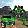 Offroad Hummer Robot Transformation : Iron Machine