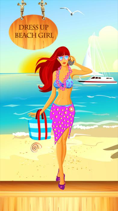 Dress Up Beach Girl screenshot one