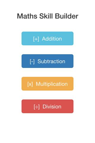 Maths Skill Builder - náhled