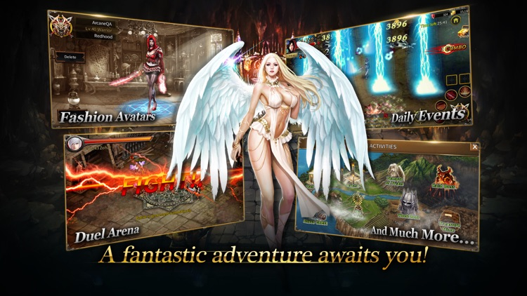 Arcane Online - Best 2D MMORPG screenshot-4
