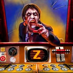 Zombie Train Driving