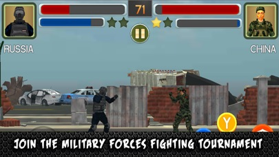 SWAT Soldiers Fighting Training 3D