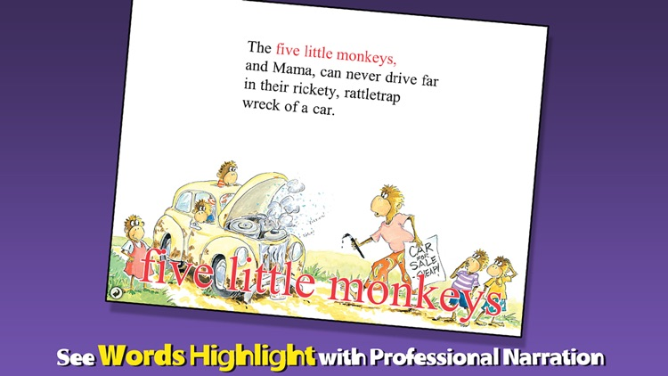 Five Little Monkeys Wash the Car screenshot-1