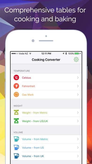 Cooking Converter review screenshots