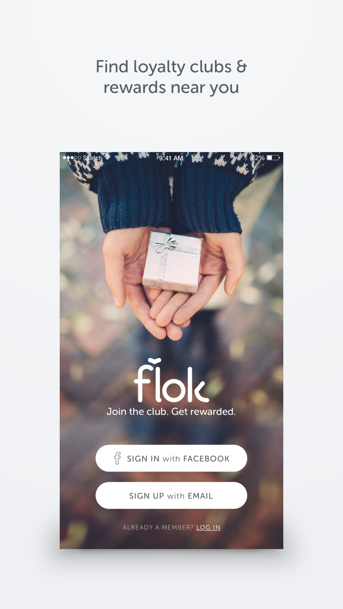 flok - Loyalty Cards App Screenshot