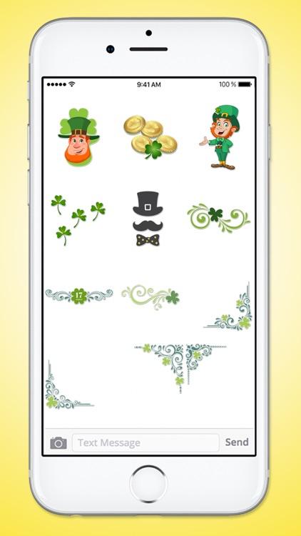 St Patricks Day Leprechaun and Beer Sticker Pack screenshot-4
