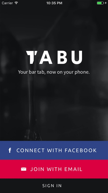 TABu - One touch tab payments