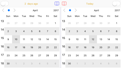 Dual Calendar screenshot 2