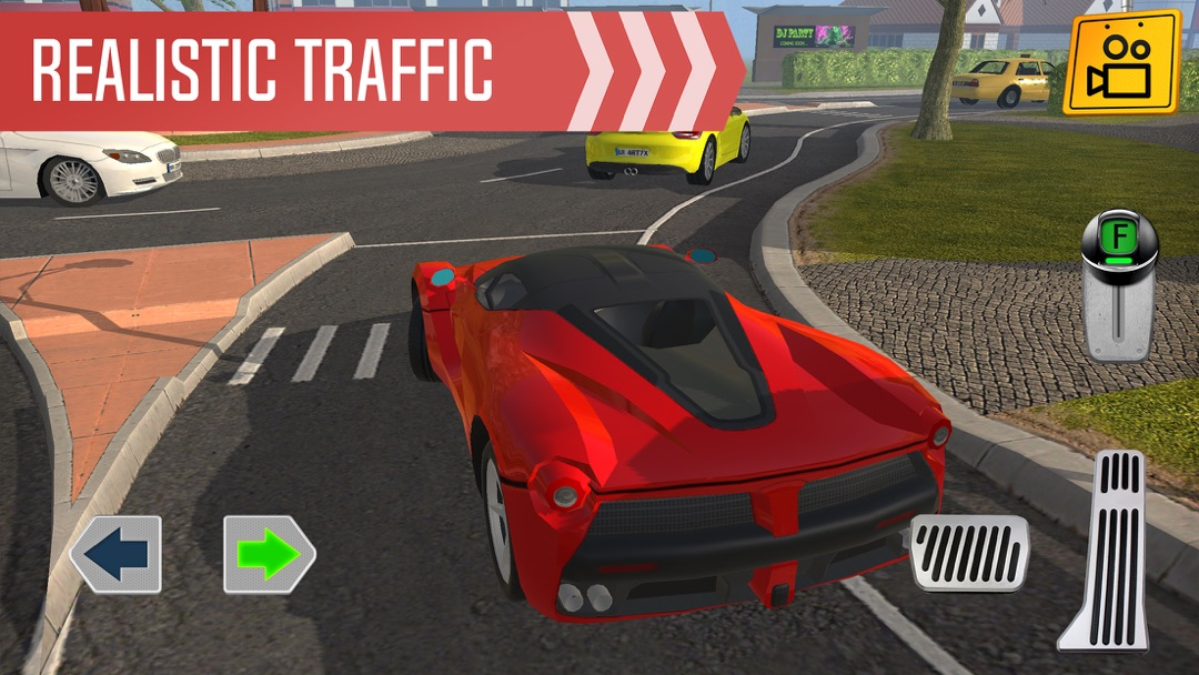 Real Driving Games >> Roundabout 2 A Real City Driving Parking Sim Online Game Hack And